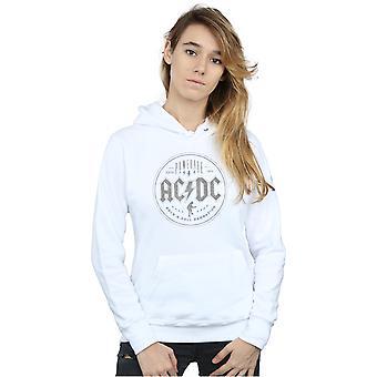 AC/DC Women's Rock N Roll Damnation sort Hættetrøje