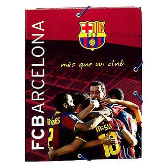 FC Barcelona Official A5 Hardback Football Crest Binder File