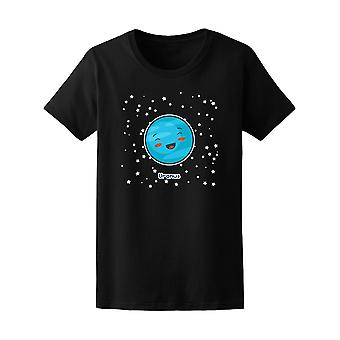 Kawaii Raum Uranus Planeten Tee - Bild von Shutterstock