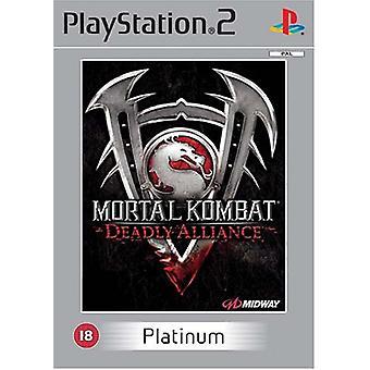 Mortal Kombat Deadly Alliance (Platina)-nytt
