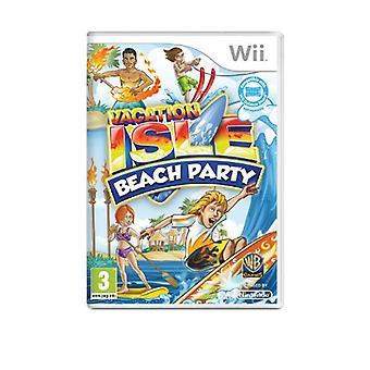 Vacation Isle (Wii) - Usine scellée