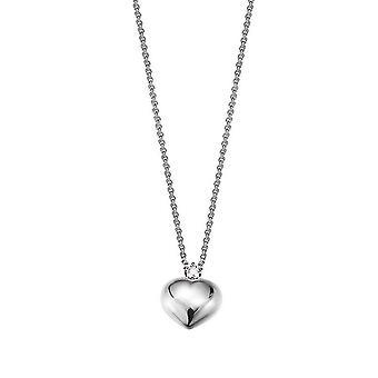 ESPRIT women's kedja halsband silver med cubic zirconia nyanser av kärlek ESNL92721A420