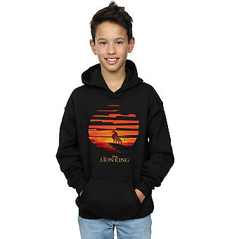 Disney Boys The Lion King Mufasa Sunset Hoodie