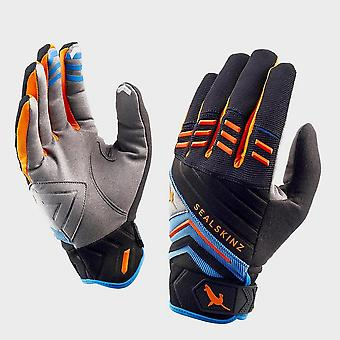 New Sealskinz Dragon Eye Trail Cycling Protection Gloves Orange