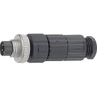 Hirschmann 933 407-100 ELST 4008 V MiniQuick M8 Cable Sockets And Connectors, Ready For Assembly Type (misc.) Cable connector (Ø x L) 13 mm x 43.5 mm