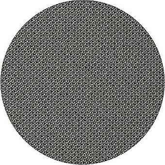 Lautsprecher Abdeckung Stoff grau gestreckt (L x B) 200 x 75 cm
