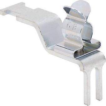 Icotek STFZ/SKL 3-6 Screen holder with mounting foot Terminal Ø (max.) 6 mm Spring steel 1 pc(s)