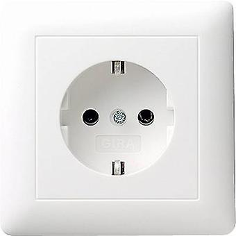 GIRA Insert PG socket System 55, Standard 55, E2, Event, Event Tranparent, Event Opaque, Esprit, ClassiX Clean white (glossy) 044003