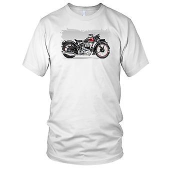 Ariel klassiske motorsykkel Biker Mens T-skjorte