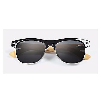 Stunning Cool Summer Sunglasses Bamboo Wood Black Beach Sun Protect Driving UK