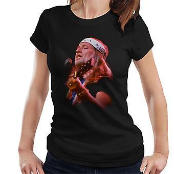TV kertaa Willie Nelson elävien naisten t-paita