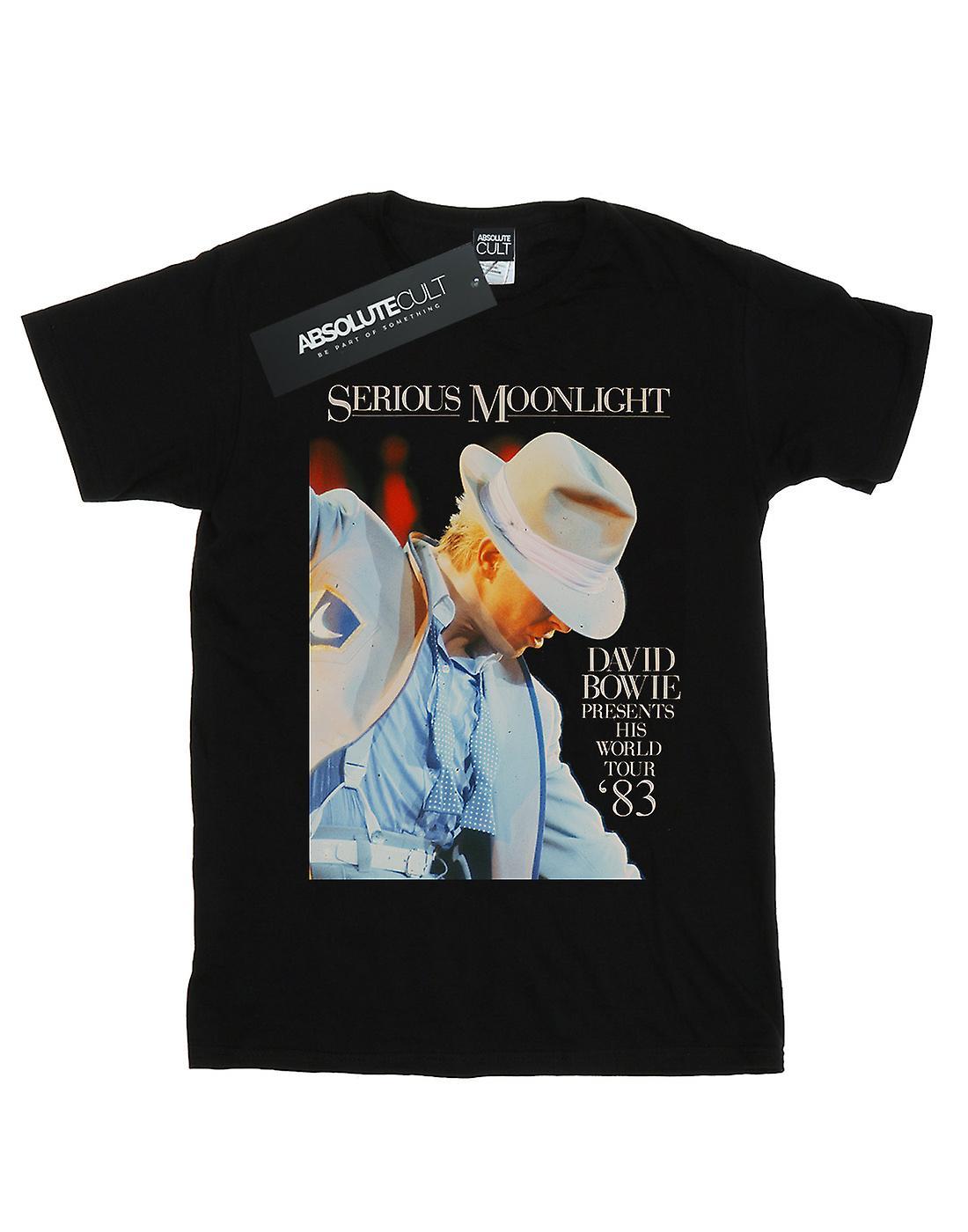 David Bowie Boys Serious Moonlight T-Shirt