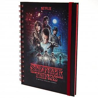 Fremde Dinge Notebook