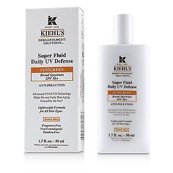 Kiehl's Dermatologist Solutions Super Fluid Uv Defense Sonnenschutz Spf 50+ - Für alle Hauttypen - 50ml/1.7oz