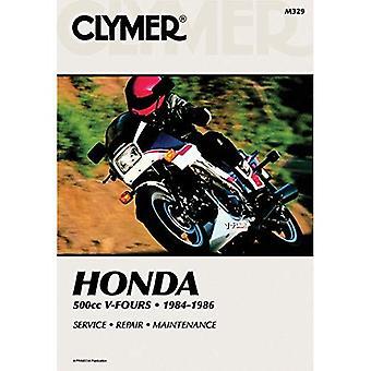 Honda 500cc V-Fours, 1984-1986