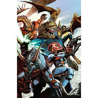 Jurassic Strike Force 5 by Neo Edmund - J. L. Giles-Rivera - Matt Rog