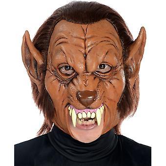 Werewolf 3/4 Latex Mask For Halloween
