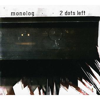 Monologue - 2 points gauche [CD] USA import