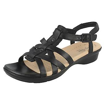 Ladies Clarks Strappy Sandals Loomis Katey
