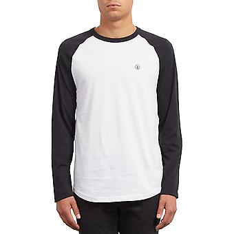 Volcom Pen Long Sleeve T-Shirt in Nero
