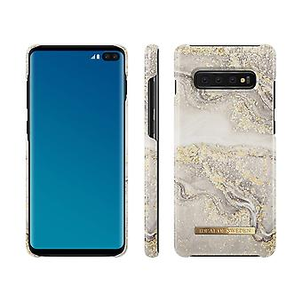 iDeal Of Sweden Samsung Galaxy S10 - Sparkle Greige Marble