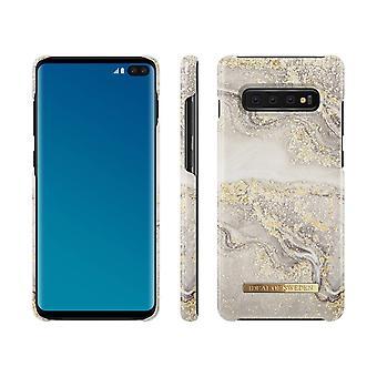iDeal von Schweden Samsung Galaxy S10 + Funkeln Greige Marmor