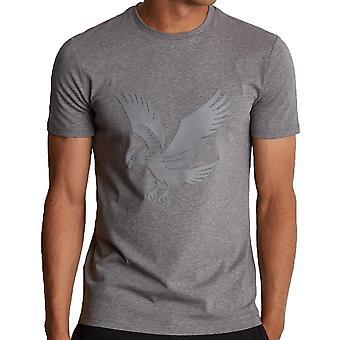 Lyle and Scott Casuals Logo Tshirt  Mid  Marl