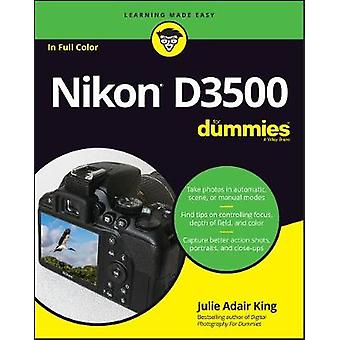 Nikon D3500 For Dummies by Julie Adair King - 9781119561835 Book