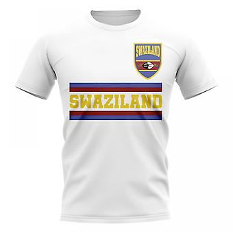 Swaziland Core Football Country T-Shirt (bianco)