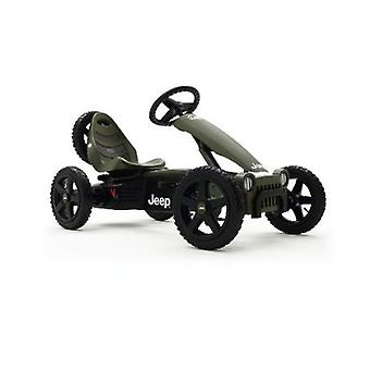BERG Jeep Adventure Pedal Go Kart Green