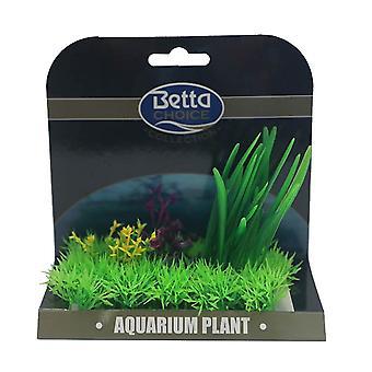 Betta Choice Medium Plant Mat - Green & Purple