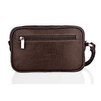 Wrist Bag, Multi Patch Pocket, Central Zip Pocket