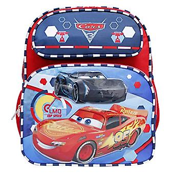 Small Backpack - Cars 3 - Lightning McQueen Red White & Blue New 000264