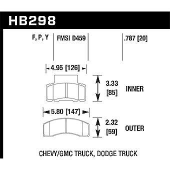 Hawk Performance HB298Y.787 LTS