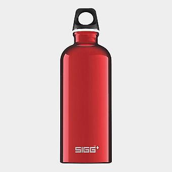 New Sigg Traveller Hydration Water Bottle 0.6 Litre Red