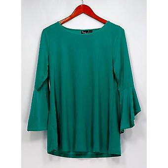 Women with Control Top TS Tall Flounce Sleeve Turquoise Green A302300