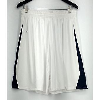 Holloway plus Shorts (XXL) elastische taille w/Drawcord Mesh inzetstukken wit