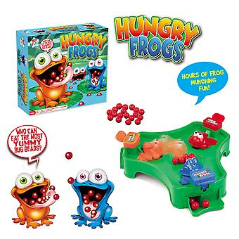 Kids Play Hungry Frogs Munching Marble Grab Game Family Fun Toy 2+ Players