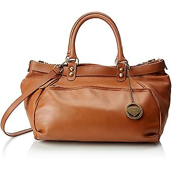 Ccacca Bags Cbc34019tar Shoulder Bag Women Brown (Leather) 18x28x38 cm (W x H x L)
