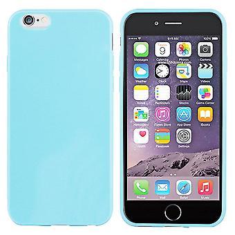 iPhone 6 زائد سيليكون حالة الضوء الأزرق - CoolSkin