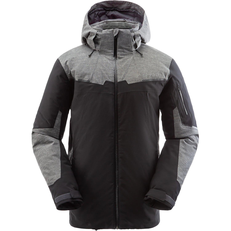 Spyder CHAMBERS Herren Gore-Tex Primaloft Ski Jackes schwarz