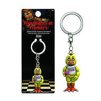 Five Nights At Freddy's Chica Figural Keychain