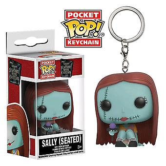 The Nightmare Before Xmas Sally Seated Pocket Pop Keychain