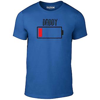 Reality glitch daddy battery empty mens t-shirt