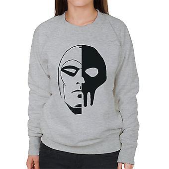 The Phantom Skull Split Women's Sweatshirt