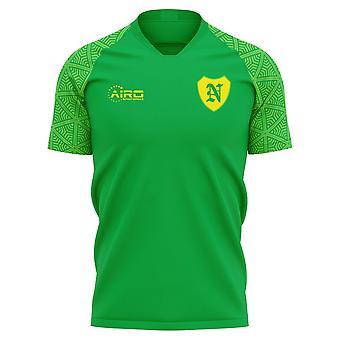 2019-2020 Norwich Away Concept Football Shirt