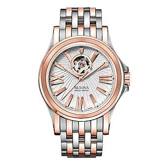 ساعة اليد الميكانيكية التلقائية من بولوفا 65A105 Accu-Swiss