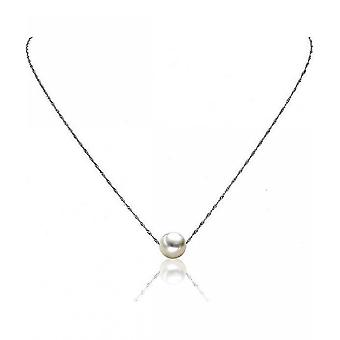 Luna-Pearls Pearl Necklace Akoyaperle 8.5-9 mm 750 White Gold 3001243