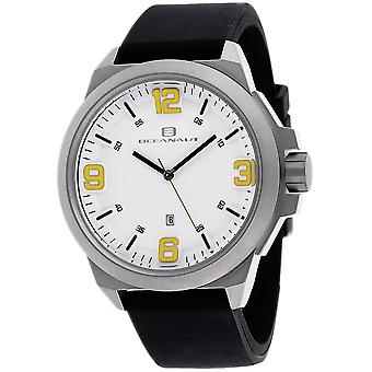 Oceanaut Men-apos;s Armada White Dial Watch - OC7118
