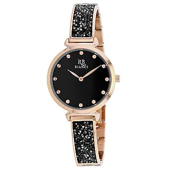 Roberto Bianci Women's Brillare Black Dial Watch - RB0205